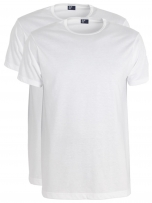 Alan Red T-shirt uni (2-pack)